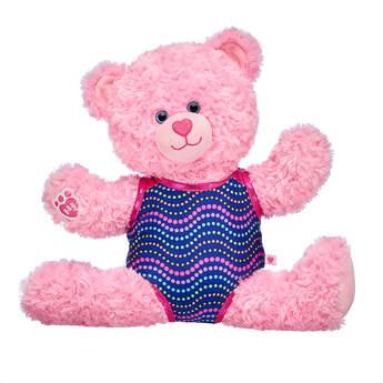 Pink Cuddles Teddy Gymnastics Gift Set, , hi-res