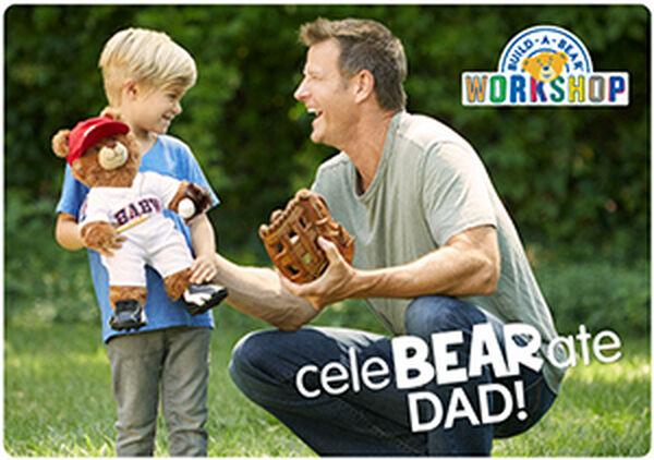 CeleBEARate Dad E-Gift Card, , hi-res