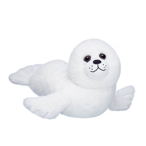 Online Exclusive White Seal - Build-A-Bear Workshop®