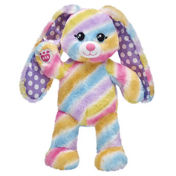 Spring Stripes Bunny - Build-A-Bear Workshop®