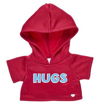 Red Hugs Hoodie, , hi-res