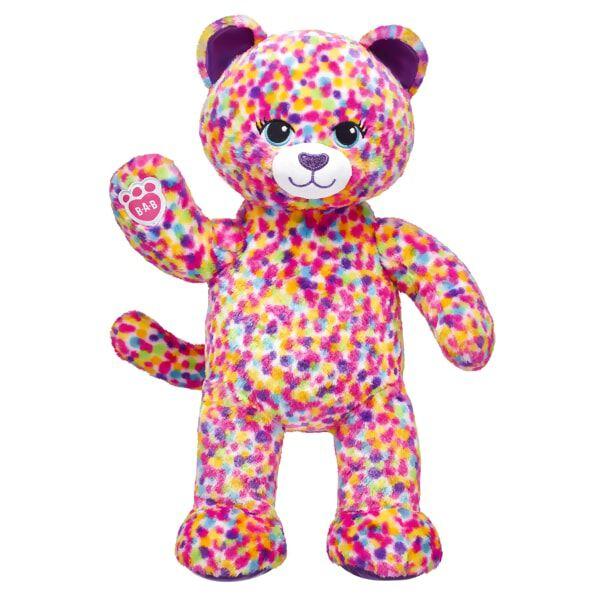 Rainbow Confetti Leopard, , hi-res