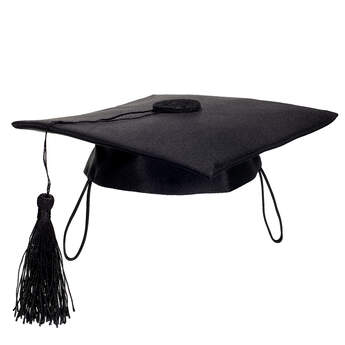 Online Exclusive Black Graduation Cap - Build-A-Bear Workshop®