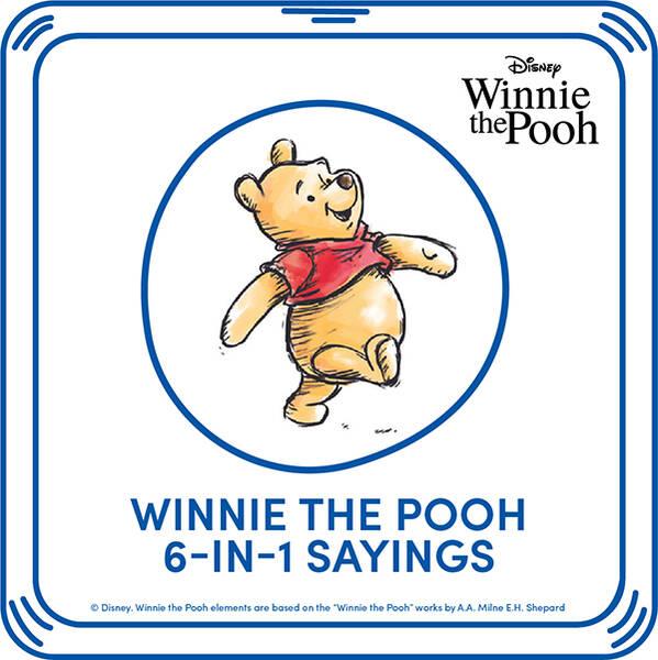 Disney Winnie the Pooh 6-in-1 Sayings - Build-A-Bear Workshop®
