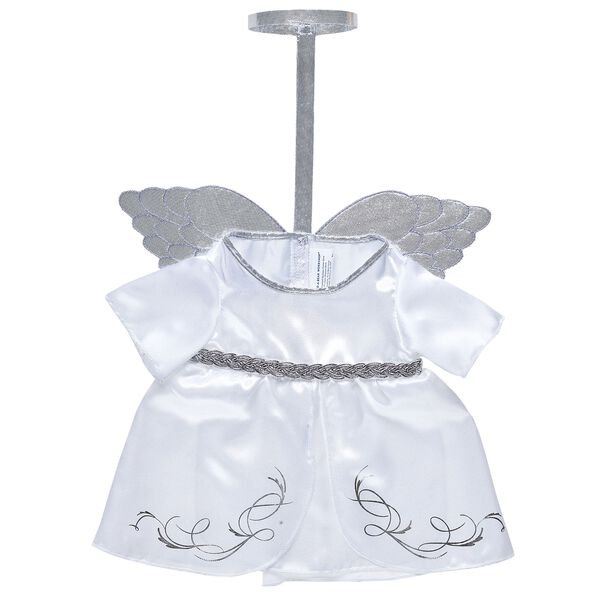 Online Exclusive White Angel Dress, , hi-res