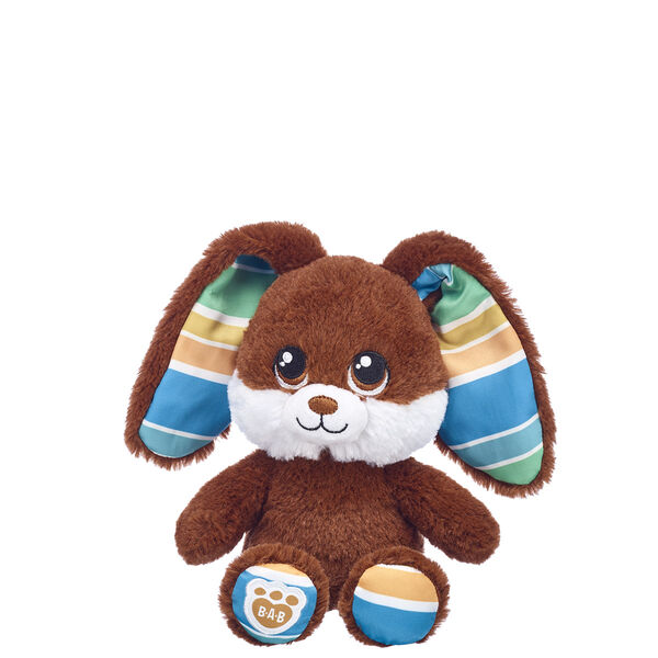 Build-A-Bear Buddies™ Chocolate Stripes Bunny, , hi-res