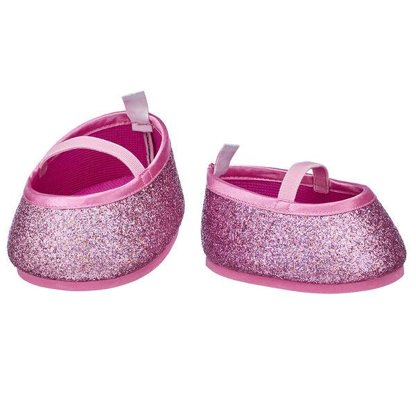 Pink Sparkle Flats, , hi-res