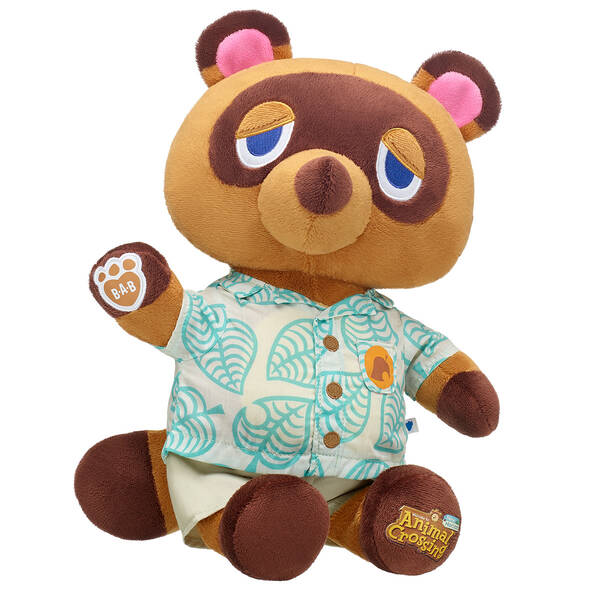 Animal Crossing™: New Horizons Tom Nook - Summer - Build-A-Bear Workshop®