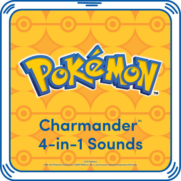 Charmander 4-in-1 Sound, , hi-res