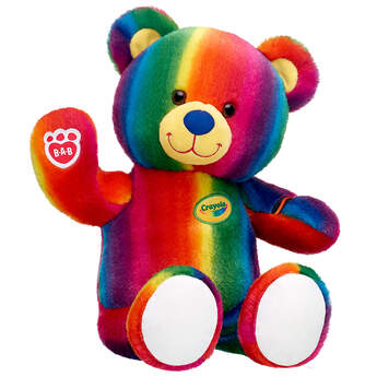 Crayola Teddy - Build-A-Bear Workshop®