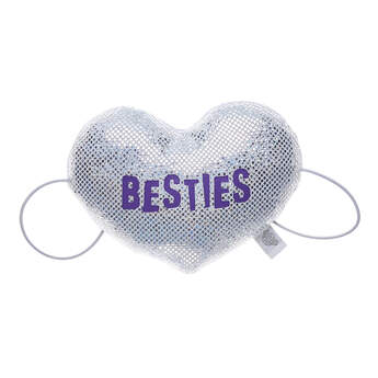 Add this plush heart wristie to the furry friend that's your bestie! It has two elastic bands so that your friend can hold it with both paws. Personalise a furry friend to make the perfect gift. Shop online or visit a store near you!