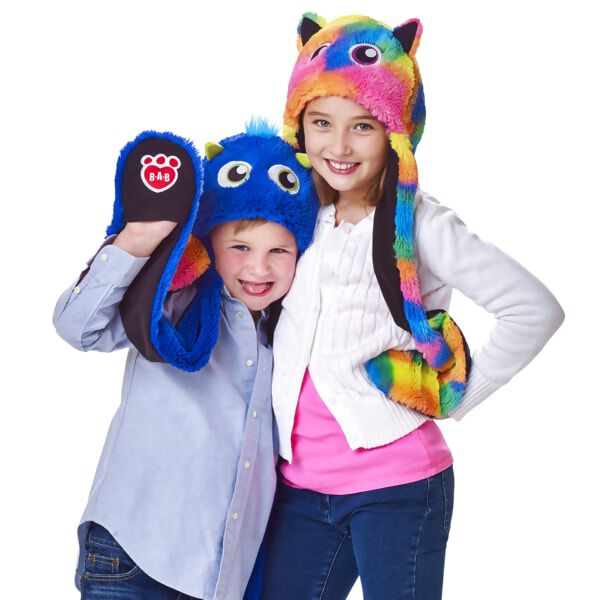 Kid's Rainbow Monster Mixters Hat Scarf & Mittens All-in-One, , hi-res