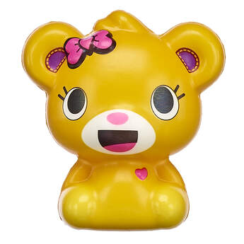Adventure through the town of Pawston with this adorable Kabu Bearnice kawaii squishy! Bearnice is a friendly and funny member of the Kabu crew. This little golden bear is made of super squishy material! Shop online or in store at Build-A-Bear Workshop!