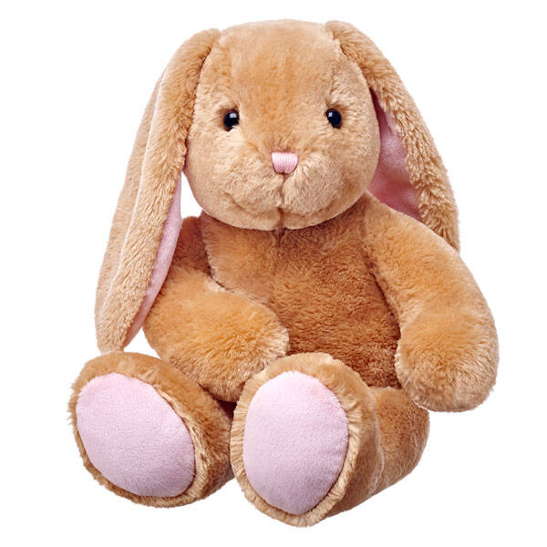 bunny stuffed animal sitting