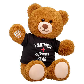 Online Exclusive Happy Brown Bear Emotional Support Gift Set, , hi-res
