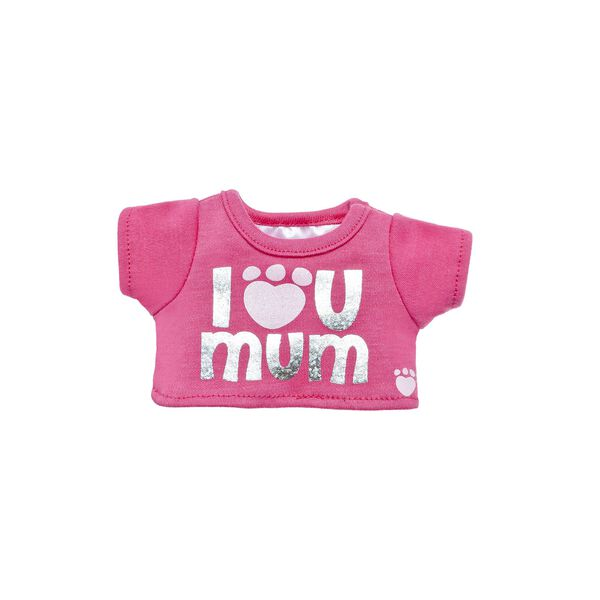 "Build-A-Bear Buddies™ ""I Luv U Mum"" Chat-Tees™, , hi-res"