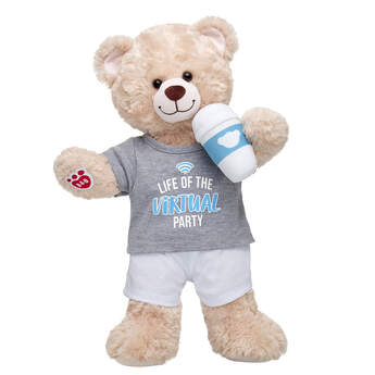 Online Exclusive Happy Hugs Teddy Virtual Party Gift Set, , hi-res