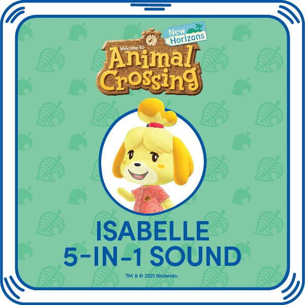 Animal Crossing™: New Horizons Isabelle Phrases - Build-A-Bear Workshop®