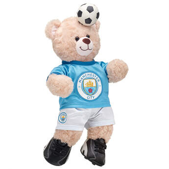 Happy Hugs Teddy Manchester City F.C. Gift Set, , hi-res