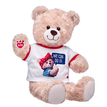 Online Exclusive Rosie the Riveter Bear Gift Set, , hi-res