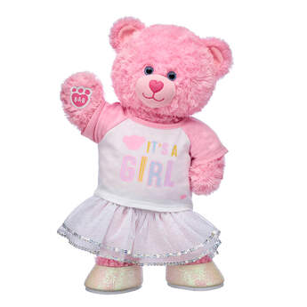 Pink Cuddles Teddy New Baby Gift Set, , hi-res