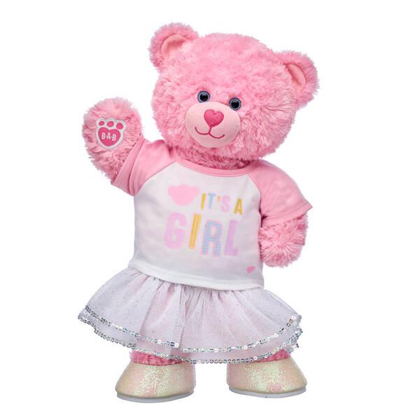 Pink Cuddles Teddy New Baby Gift Set, , hi-res