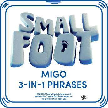 Add these fun sounds to your Migo furry friend and hear sayings from the movie SMALLFOOT™ every time you press his paw! © & ™ Warner Bros. Entertainment.