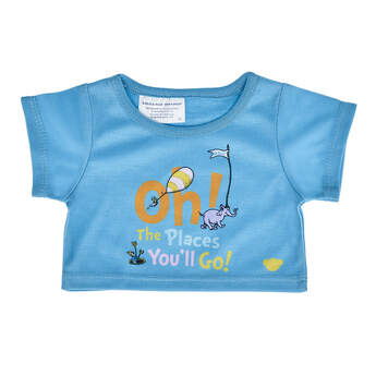 Online Exclusive Oh, the Places You'll Go! T-Shirt - Build-A-Bear Workshop®