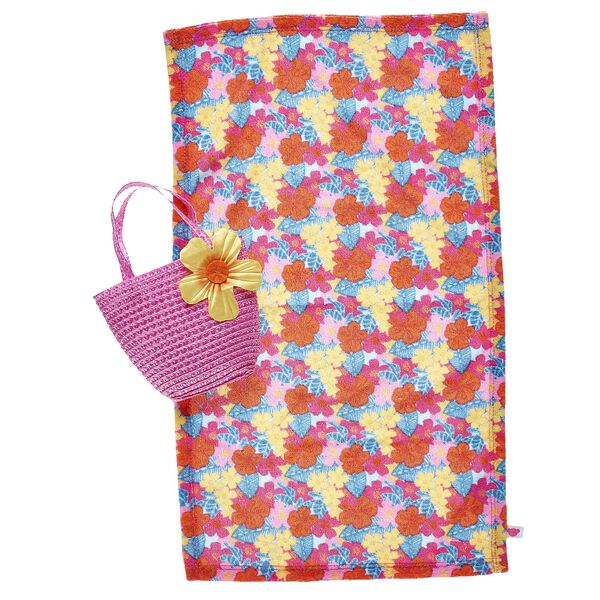 Tropical Beach Towel & Tote Set 2 pc., , hi-res