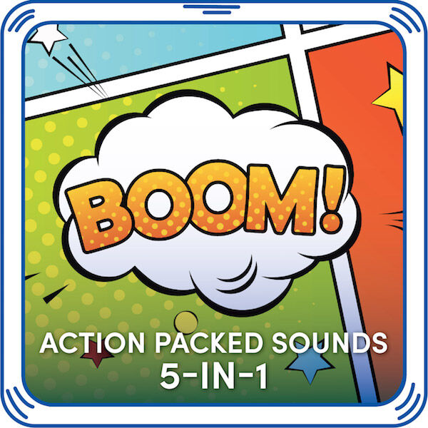 Action Packed Sounds 5-in-1, , hi-res
