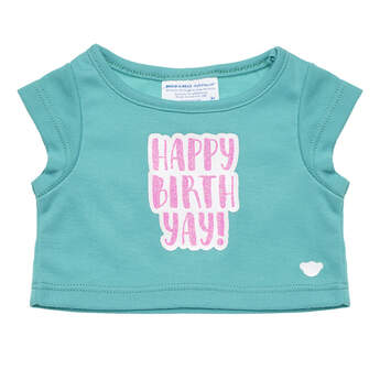 Online Exclusive Happy Birthyay T-Shirt - Build-A-Bear Workshop®