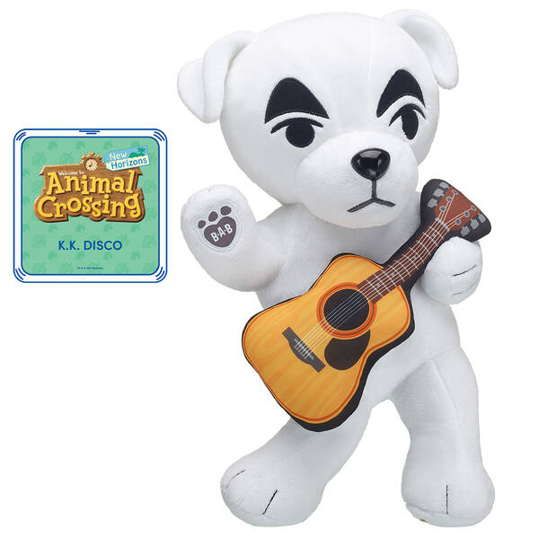 Animal Crossing™: New Horizons K.K. with Guitar and K.K. Disco Song Bundle - Build-A-Bear Workshop®