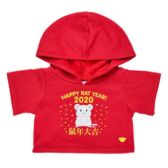 Online Exclusive Year of the Rat Hoodie - Build-A-Bear Workshop®