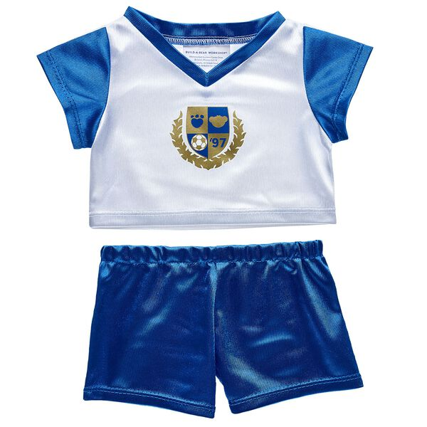 Blue & White Football Kit 2 pc., , hi-res
