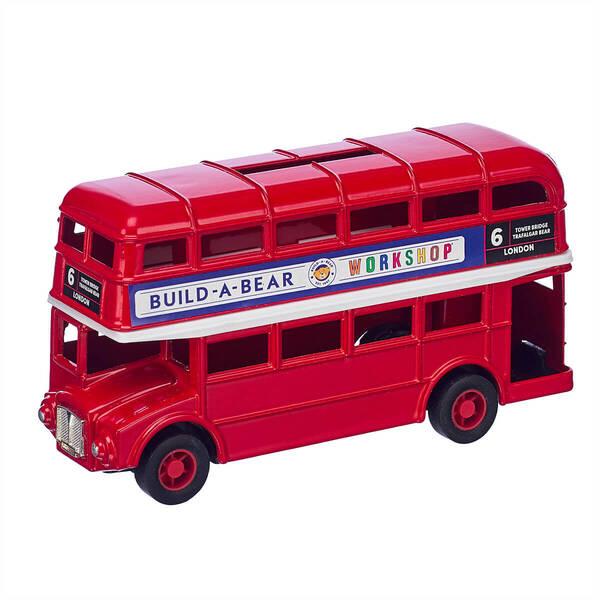 London Bus Money Box - Build-A-Bear Workshop®