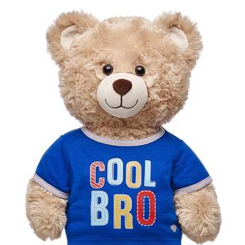 "Let everyone know who the cool sibling is with this adorable furry friend-sized T-shirt! This blue and grey ringer tee has a fun ""Cool Bro"" graphic on the front of it. Outfit any furry friend in this T-shirt to make a perfect gift!"