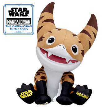 Online Exclusive Loth-cat Inspired Plush with The Mandalorian™ Theme Song, , hi-res