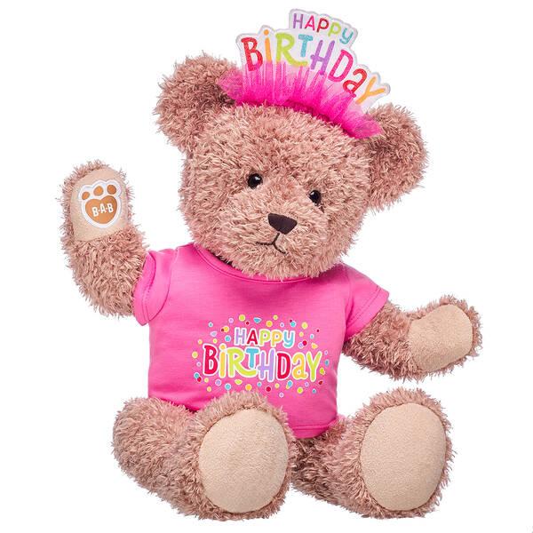 Online Exclusive Everlasting Teddy Pink Birthday Gift Set, , hi-res