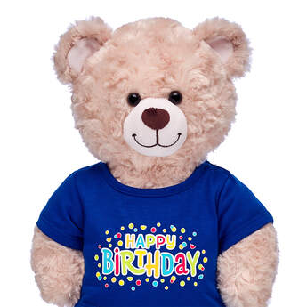 Blue Happy Birthday T-Shirt - Build-A-Bear Workshop®