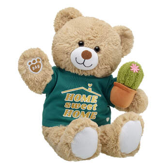 Online Exclusive Cuddly Brown Bear Home Sweet Home Gift Set, , hi-res
