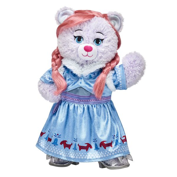 Disney Frozen Anna Inspired Bear Gift Set, , hi-res