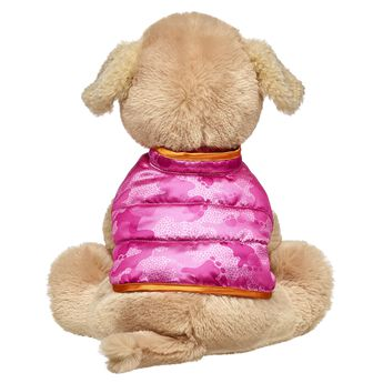 Pink is the PAWfect color for your Promise Pets furry friend! Keep your four-legged friend warm when its chilly by adding this cool puffer vest. Personlize a furry friend to make the perfect gift. Shop online or visit a store near you!