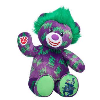 The Joker™ Teddy Bear - Build-A-Bear Workshop®