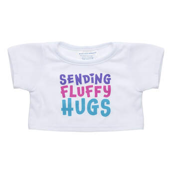 Online Exclusive Sending Fluffy Hugs T-Shirt - Build-A-Bear Workshop®