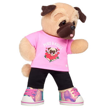 Online Exclusive Love Pug Pink Gift Set, , hi-res