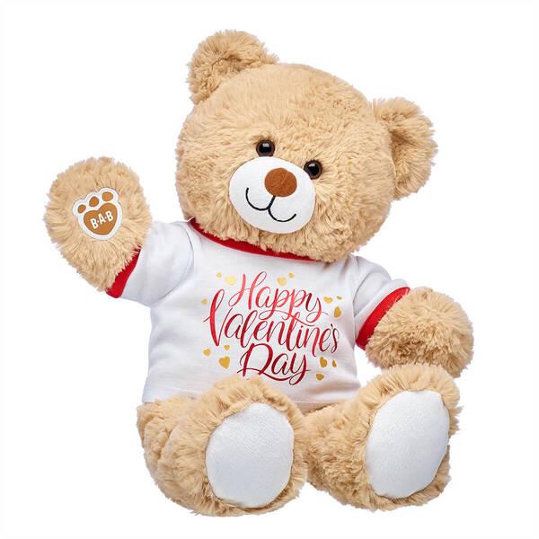Cuddly Brown Bear Valentine's Day Gift Set, , hi-res