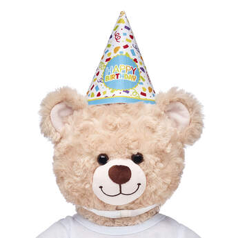 A birthday is a BEARY big day – and dressing a furry friend in this cute birthday party hat is a cuddly way to make anyone's birthday wishes come true!