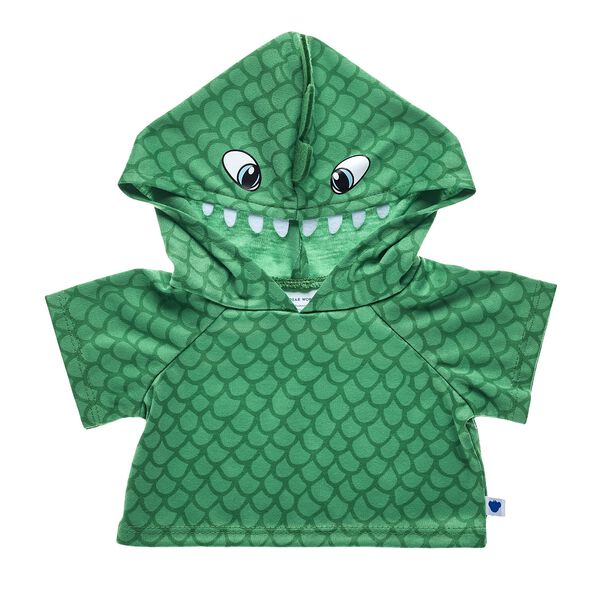 Green Dinosaur Hoodie, , hi-res