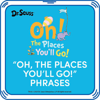 Online Exclusive Oh, the Places You'll Go! Phrases - Build-A-Bear Workshop®