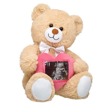 Online Exclusive Cuddly Brown Bear Picture Frame Gift Set, , hi-res